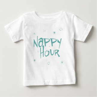 Nappy Hour Baby T-Shirt