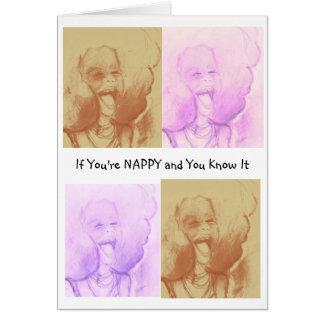 Nappy Notes, Samira Simone Kollection Card