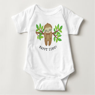 Funny Tired Gift Sleeping Baby Jersey Short Sleeve Tee My Happy Hour is Nap Time Nap Lazy Napping