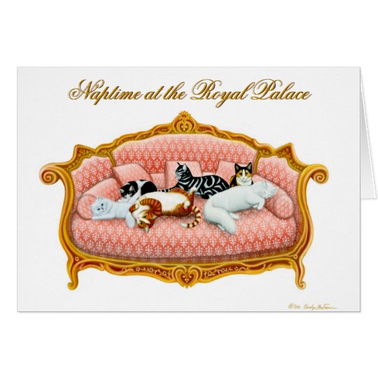 Naptime at the Palace Card