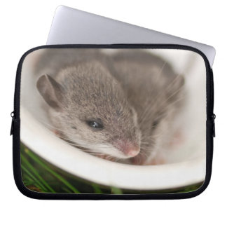 Naptime Baby Mice Laptop Computer Sleeves