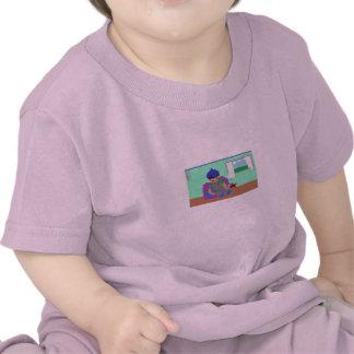 Naptime del niño de la camiseta