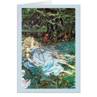 Naptime for Fairies - Card