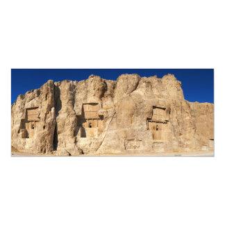 Naqsh-e Rustam Necropolis Shiraz Iran Cemetery Card