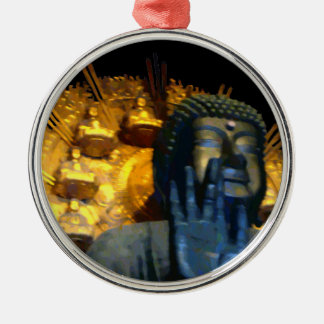 Nara Buddha / Nara Daibutsu Metal Ornament