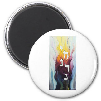 Naranchai Five levels of the Soul 2 Inch Round Magnet