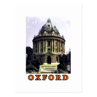 Naranja 1986 de la foto 198 de Oxford El MUSEO Tarjeta Postal