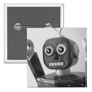 Naranja 2000 del robot pins