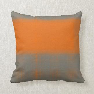 Naranja abstracto 3 cojin