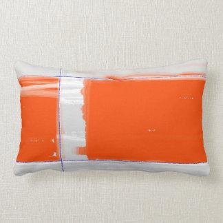 Naranja abstracto cojin