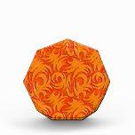 Naranja anaranjado de la calabaza de la decoración