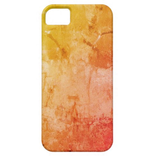 Naranja apenado iPhone 5 fundas