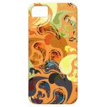 naranja brillante maravilloso de la cubierta el |  iPhone 5 Case-Mate coberturas