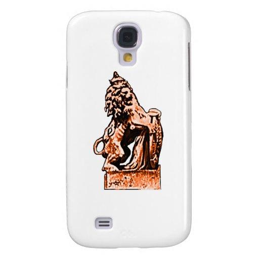 Naranja británico del león del emblema los regalos