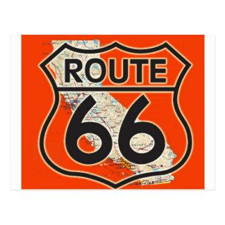 Naranja California de la ruta 66 Postales