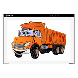 Naranja Cartoon.png del camión volquete 3Ax Skins Para 43,2cm Portátiles