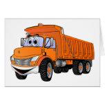 Naranja Cartoon.png del camión volquete 3Ax Felicitación