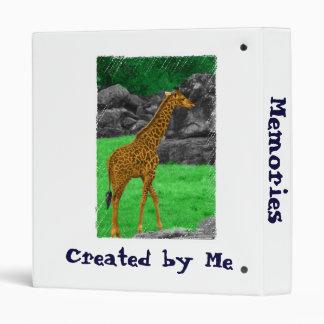 """Naranja colorized foto y verde de la jirafa carpeta 1"""""""
