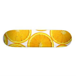 Naranja cortado patines personalizados