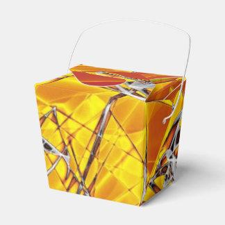 Naranja de ABBY del arte de la llama Cajas Para Regalos De Fiestas