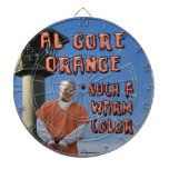Naranja de Al Gore Tablero De Dardos
