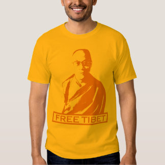 naranja de Dalai Lama Poleras