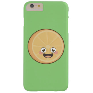 Naranja de Kawaii Funda Para iPhone 6 Plus Barely There