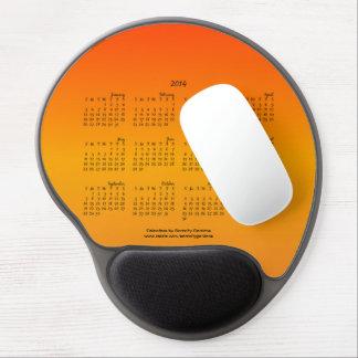 Naranja de la Cojín-Puesta del sol del ratón de 20 Alfombrilla De Raton Con Gel