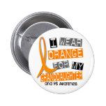 Naranja de la esclerosis múltiple del ms para mi n pin