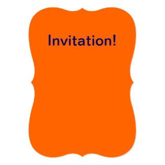 Naranja de la invitación
