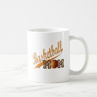 Naranja de la mamá del baloncesto taza clásica