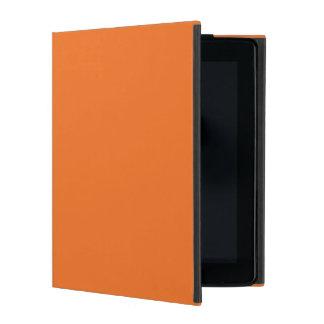 Naranja de la mandarina iPad protectores