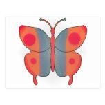 Naranja de la mariposa postal