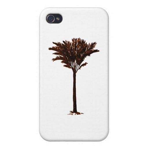 Naranja de la palmera 2 los regalos de Zazzle del  iPhone 4/4S Fundas