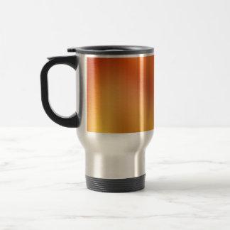 Naranja de la pendiente taza de café