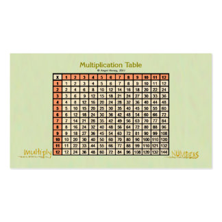 Naranja de la tarjeta del Tabla-bolsillo de la mul Tarjeta De Visita