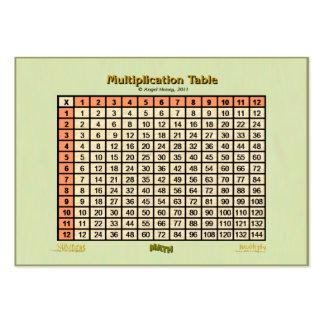 Naranja de la tarjeta del Tabla-bolsillo de la Tarjetas De Visita Grandes