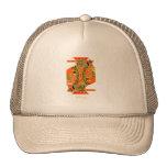 Naranja de reyes gorras de camionero