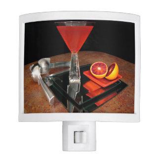 Naranja de sangre Martini Luces De Noche