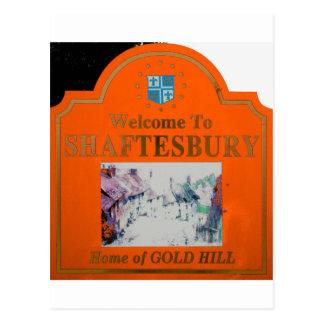 Naranja de Shaftesbury Postal