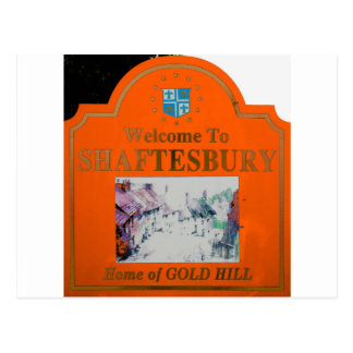Naranja de Shaftesbury Postales