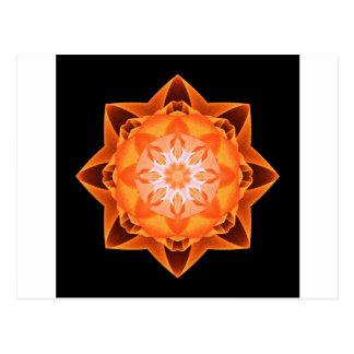 Naranja de Stardust del fractal Postales