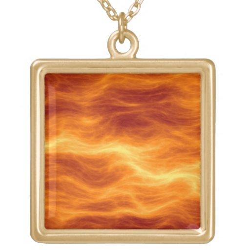 Naranja del agua ardiente y fondo rojos del amaril grimpola