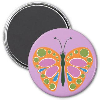 Naranja del atasco de la mariposa imán