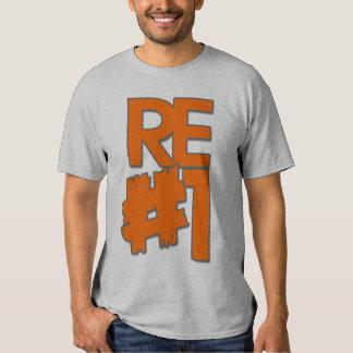 Naranja del bloque camisas