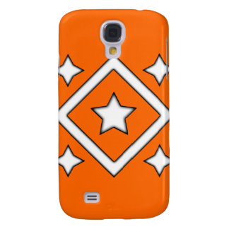Naranja del caso de Iphone 3 de la estrella del di