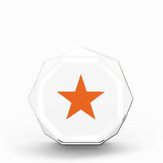 Naranja del Celosia de las estrellas 8
