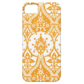 Naranja del damasco de la piña iPhone 5 Case-Mate carcasa