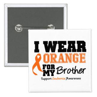 Naranja del desgaste de la leucemia I para Brother Pin