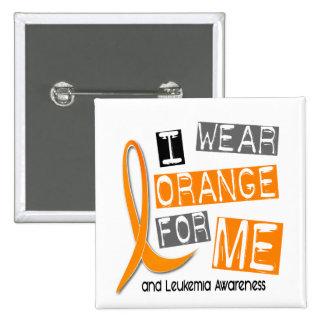 Naranja del desgaste de la leucemia I para MÍ 37 Pin Cuadrado